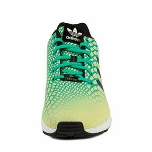 finest selection b6719 00634 adidas Shoes - Adidas ZX Flux Xeno Glow In The Dark Shoes AQ8212